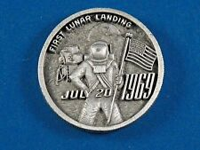 Apollo 11 First Lunar Landing Medal 1969 by LG Balfour Co. July 20, 1969