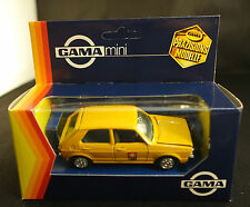 Gama mini ◊ VW Golf Swiss PTT Rare model ◊ 1/43 ◊ en boîte/boxed