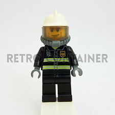 LEGO Minifigures - 1x cty024 - Fireman - Pompiere Omino Minifig Set 7240