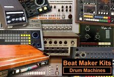 WAV VINTAGE DRUM MACHINE samples Collection, Akai, Casio, Kawai, Korg, Roland, YAMAHA