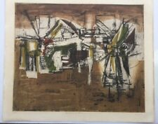 Early French Lithograph 26/50