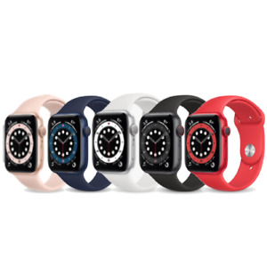 Apple Watch Series 6 - 40/44mm - GPS/Cellular - Space Grey / Silver / Gold / Red