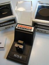 SHURE N75-6 PHONO STYLUS. NOS NEW BOXED.