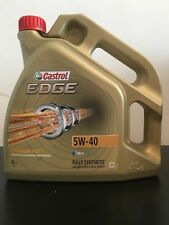 CASTROL EDGE FST TURBO DIESEL 5W-40 ENGINE OIL ACEA C3 4 LITRES BMW LL04