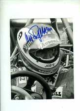 Clay Regazzoni Ferrari 312 T2 British Grand Prix 1976 Signed Press Photograph 2