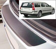 Volvo V70 Ranchera - Estilo Carbono parachoques trasero Protector