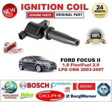 FOR FORD FOCUS II 1.8 FlexiFuel 2.0 LPG CNG 2003-2007 SINGLE IGNITION COIL 2-PIN