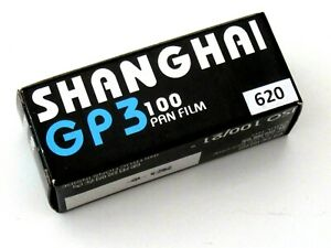 Shanghai GP3 620 100 Format Black and White Film - BRAND NEW (From a UK Seller)