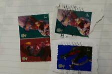 4 Punch & Judy commemorative UK British postage stamps philately philatelic