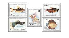 KUB7801 Aquarium Fish 6 pcs MNH 1978