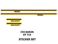 Dinky Toys C55 Aircraft Sticker Set 715