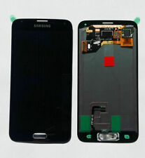 Original Samsung Galaxy S5 SM-G900F LCD Display TouchScreen Schwarz Black