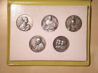 The Holy Years of the XX Century 1900 1925 1933-34 1950 1954 Set of 5 Medals