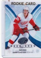 13-14 2013-14 UPPER DECK ICE DANNY DeKEYSER ROOKIE /999 52 DETROIT RED WINGS