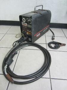 Lincoln LN-25 Suitcase Wire Feed Welder with Magnum 300 Gun
