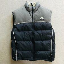 Nike ACG - Men's Snowboarding Goose Down Puffer Vest - Gray - Large