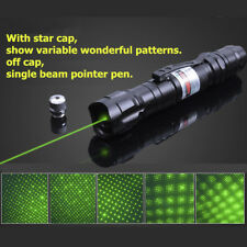 5mw 10 Mile Military Green Laser Pointer Pen Light 532nm Visible Beam Burn Focus