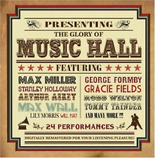 The Glory Of The Music Hall - CD - BRAND NEW SEALED GEORGE FORMBY GREATEST