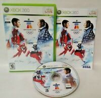 Vancouver 2010 Winter  Olympics -  Microsoft Xbox 360 Rare Complete  - Tested
