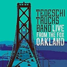 Live from the Fox Oakland * by Tedeschi Trucks Band (CD, Mar-2017, 2 Discs, Fantasy)