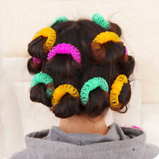 8PC DIY Magic Hair Curler Curlers Spiral Styling Rollers Curly Hair Styling Tool