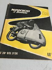 Motorcycles and Scooters 174 1956 28éme Bowl Gold, Royal Enfield Etc