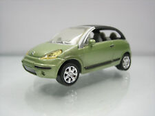 Diecast Norev Citroen C3 Pluriel 1:60? in Green Very Good Condition