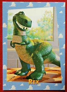 TOY STORY - Card #37 - Rex - SkyBox 1995
