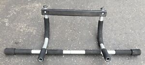 Iron Gym Total Upper Body Workout Bar PRO FIT Pull Up Used