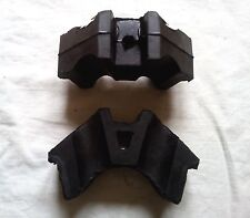 Molle in gomma  / Pair Seat e sidecar body rubber spring Dnepr Ural