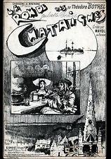 """PARTITION MUSIQUE & CHANSON """"LA RONDE DES CHATAIGNES"""" par Theodor BOTREL"""