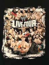 WWE T-Shirt Live Tour Youth L Large I was there NXT Raw Smackdown John Cena MVP