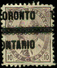 "Canada Scott #93 Precancel ""Toronto"" Used"