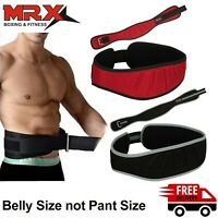 MRX Weight Lifting Belt Training Gym Fitness Bodybuilding Back Support Workout