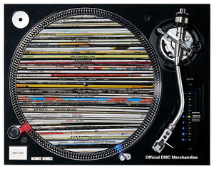 2 x Vinyl Junkie Slipmats - LP stack of Soul Funk Hip Hop Breaks Stunning!!