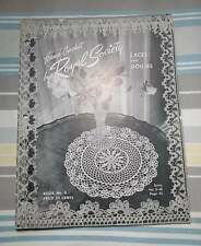 HAND CROCHET by Royal Society Book number 3 LACES DOILIES 43