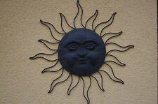 Metall Sonne Wanddekoration Wandbild Wandhänger Wanddeko 70 cm