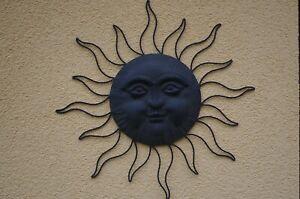 Metallo Sole Decorazione Murale Decorazione per Parete 70 CM