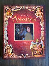 So Rare Anastasia The Art Animation Movie Designs Layout Artwork Hardcover 1997