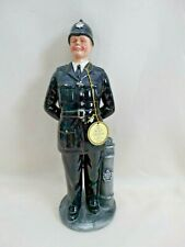 """Royal Doulton Character Figurine-""""The Bobby"""" Hn 2778 1991 Signed/Dated England"""