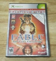 Fable: The Lost Chapters for Microsoft Xbox Complete Fast Shipping! Great shape