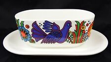 Lovely villeroy & boch Acapulco Serving Bowl With Attached UNDERPLATE