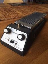 Vintage Shin EI Fuzz Wah Pédale 6TR. Très bon état avec boîte d'origine