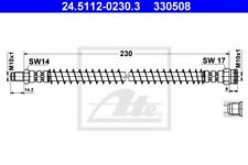 ATE FLEXIBLE DE FREIN POUR PEUGEOT 309 II 1.8 DIESEL,1.4,205 I 1.3,309 I 1.1