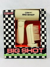 Conair Big Shot Vintage Blow Dryer 1988 Personal Care Never Used Tested Rare