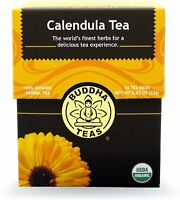 Calendula Tea by Buddha Teas, 18 tea bag 1 pack