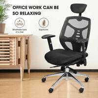 Ergonomic High Back Office Mesh Chair Executive Office Computer Desk Swivel Home
