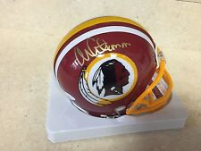 Monte Coleman  Signed Auto Redskins Mini Helmet Football  JSA Witness
