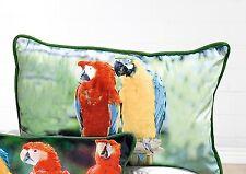 Parte di Gilde PAPPAGALLI cuscini - 44260-Lunghezza ca.: 55 cm-due pappagalli