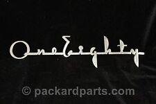1941-42 Packard 180 Hood Script Emblem